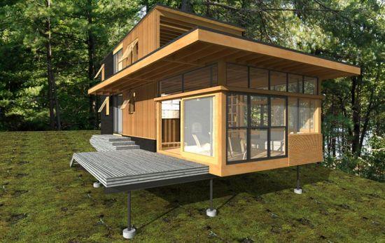 Altius Architecture Creates Off Grid Lake Cottage In Ontario Architecture Ontario Cottages Cottage
