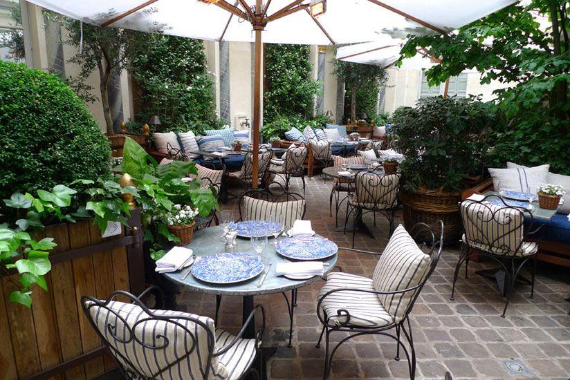 Terraza restaurant Ralph\'s in Paris www.fustaiferro.com Muebles de ...