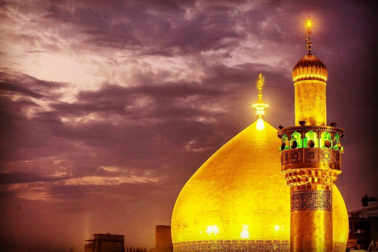 قبة حرم أمير المؤمنين الإمام علي بن أبي طالب عليهما السلام Taj Mahal Landmarks Building