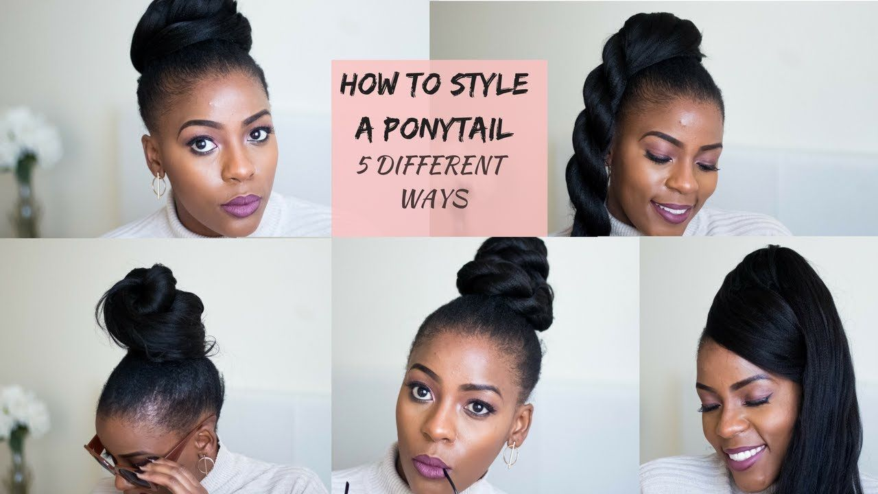 How to style a faux ponytail quick u easy hairstyles south