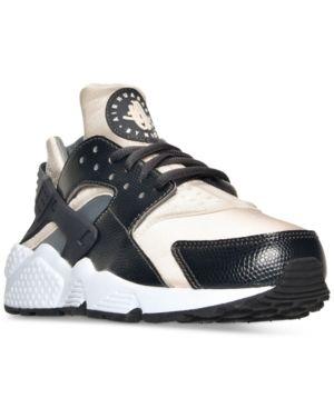 wholesale dealer 01eec be07b Nike Women s Air Huarache Run Running Sneakers from Finish Line - Black 7.5