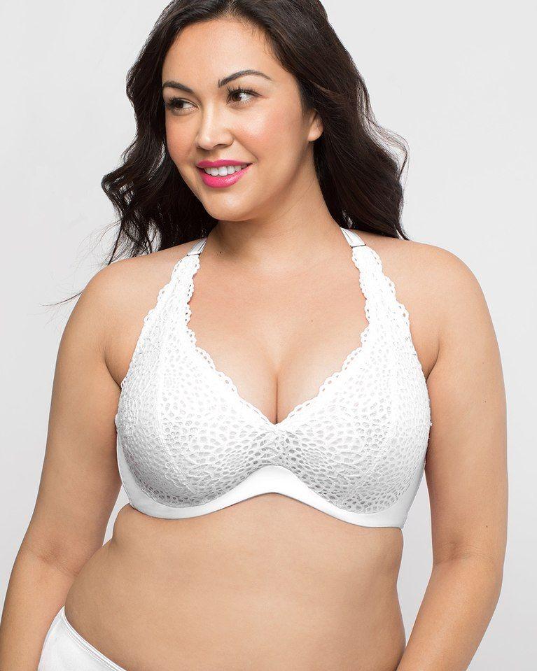 843e038c3c Curvy Couture Crochet Lace Underwire Bralette