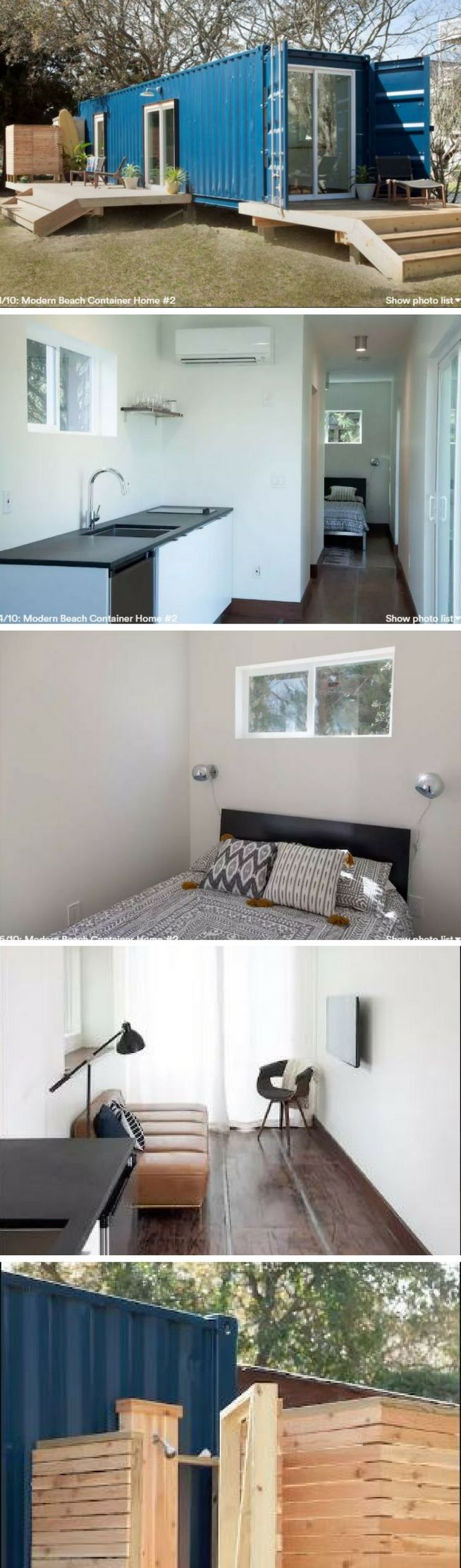 simple and minimalist shipping container home design plan