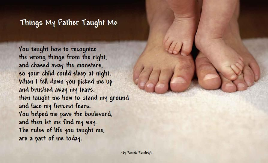 My Daughter Is My Reason For Living Quotes: Things My Father Taught Me