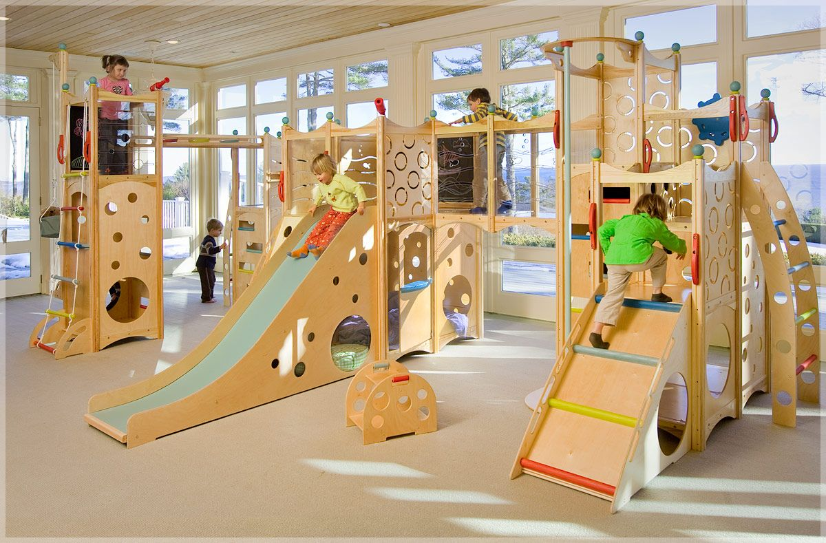 Delightful CedarWorks Rhapsody 9 Indoor Playset | My Urban Child  I Want To Make Our  Down