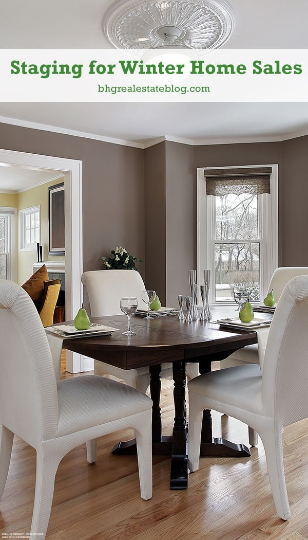 Staging For Winter Home Sales Clean Slate Home Staging Tips Home Home Staging