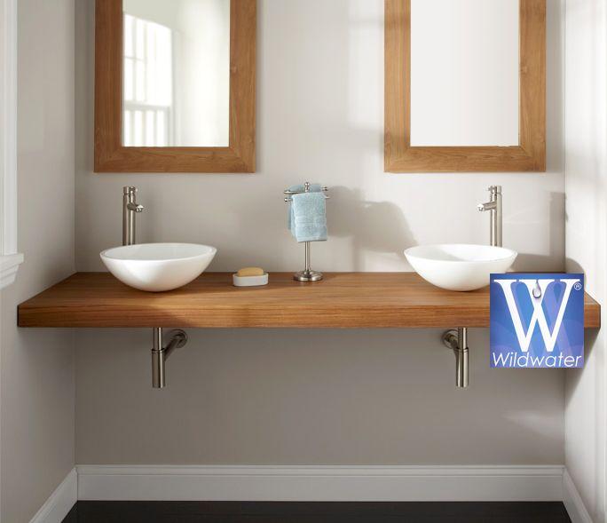 meubles salle de bain en teck collection plan de travaille salle de bains - Plan De Travail Pour Meuble De Salle De Bain