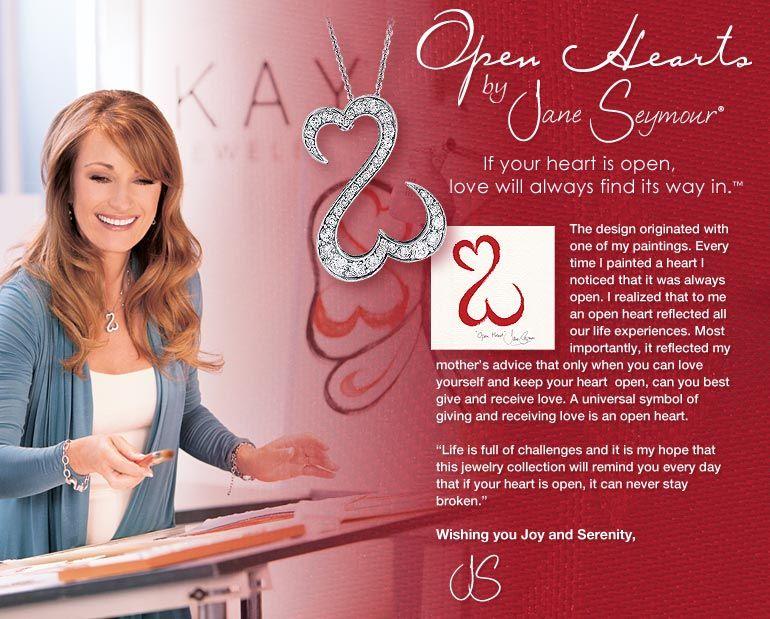 Open Hearts By Jane Seymour Jane Seymour Open Heart Kay Jewelers Jane Seymour