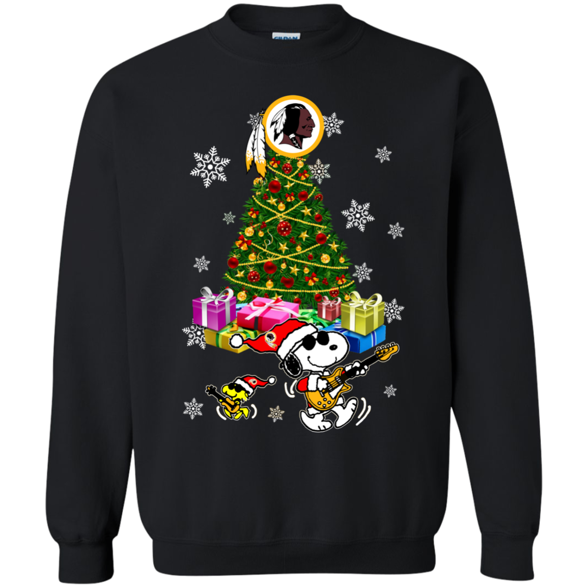Washington Redskins Ugly Christmas Sweaters Merry Christmas Snoopy Hoodies  Sweatshirts ae13e4649