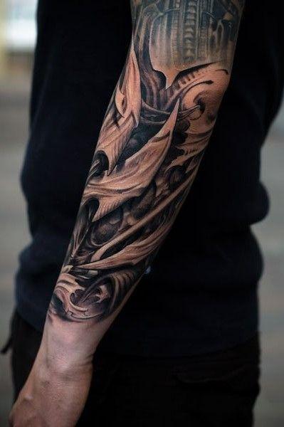 Art Coholics Victor Portugal Tatouage Avant Bras Tatouage Homme Tatouage Organique
