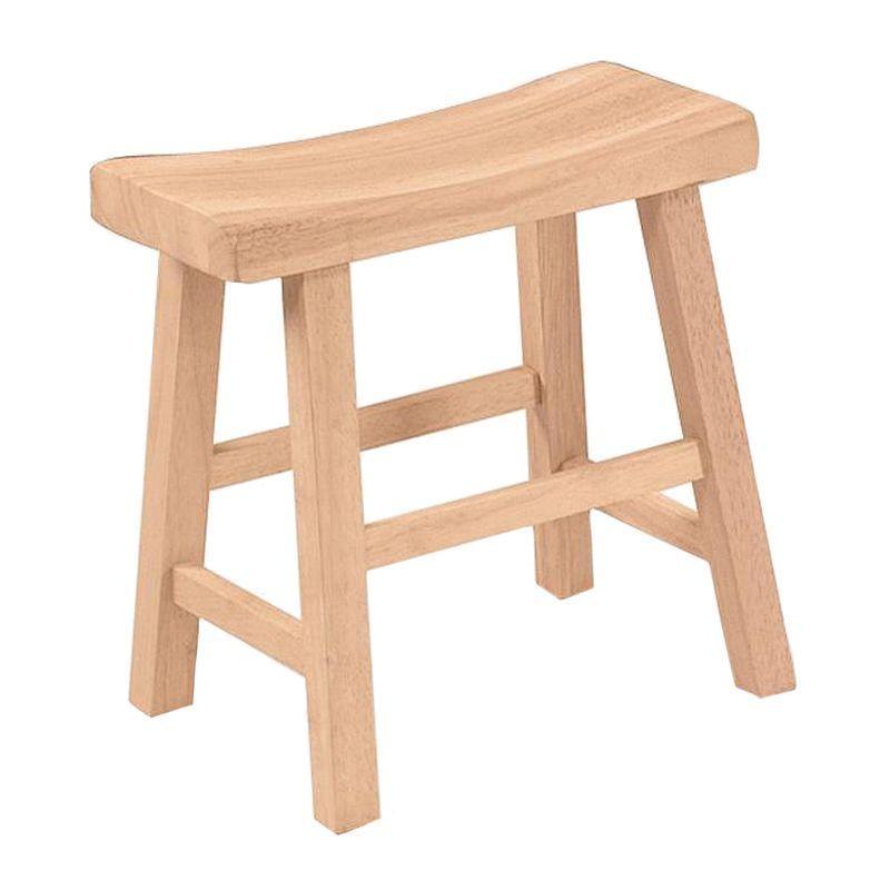 Saddle Seat Bar Stool Stools, Unfinished Furniture Stools