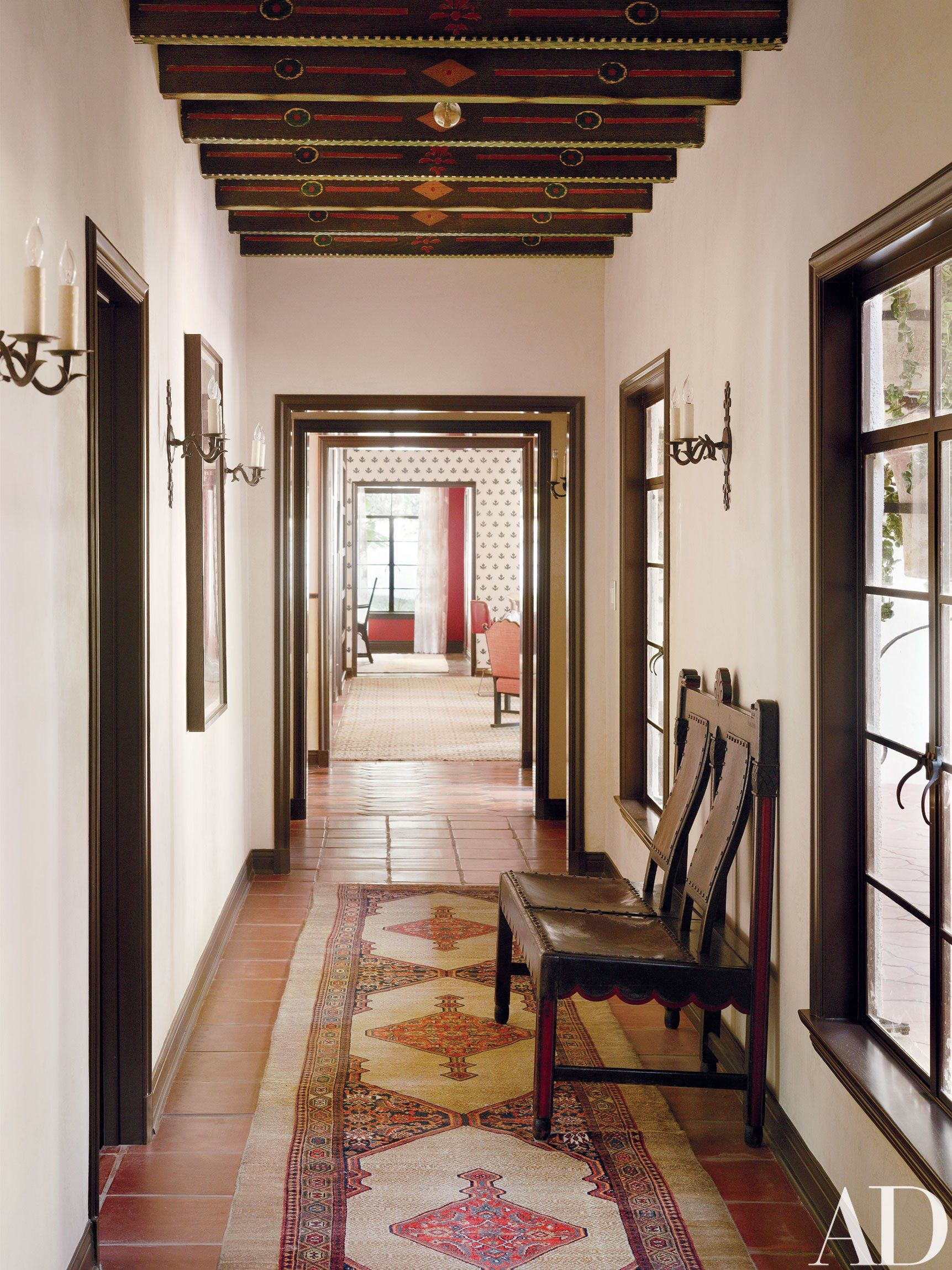1930s house hallway ideas  Pin by Rachael Elizabeth on House  Pinterest  Architectural digest