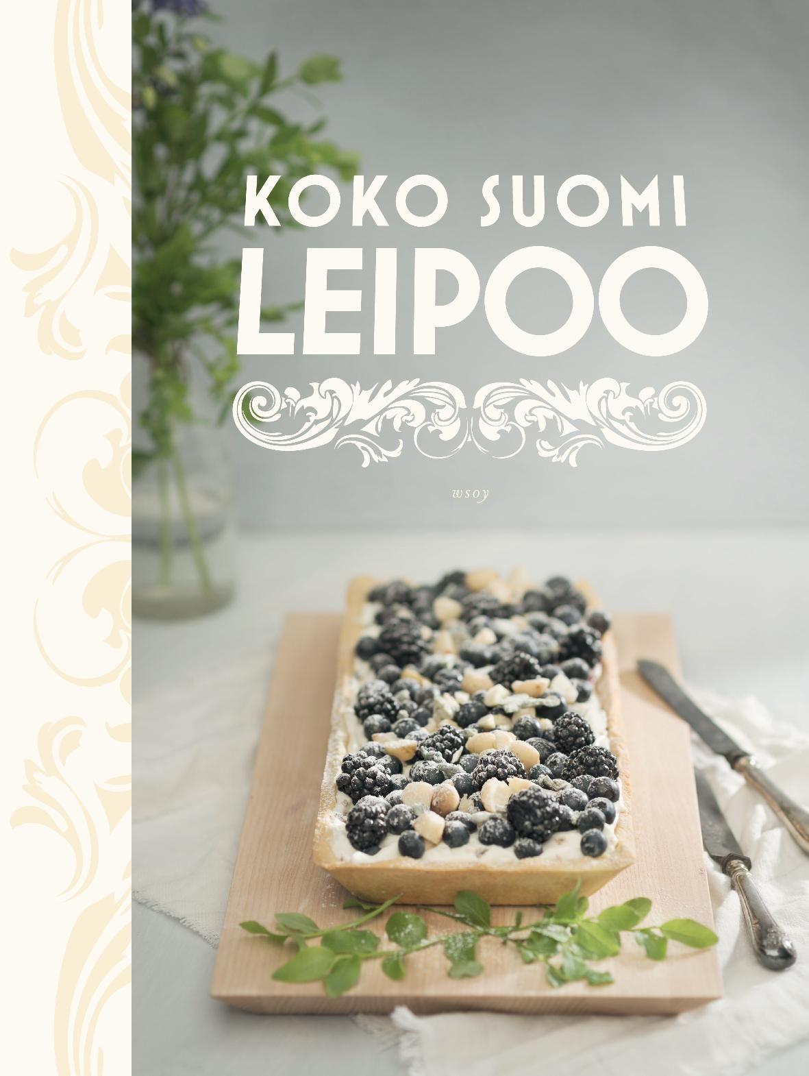 Koko Suomi leipoo - #kirja