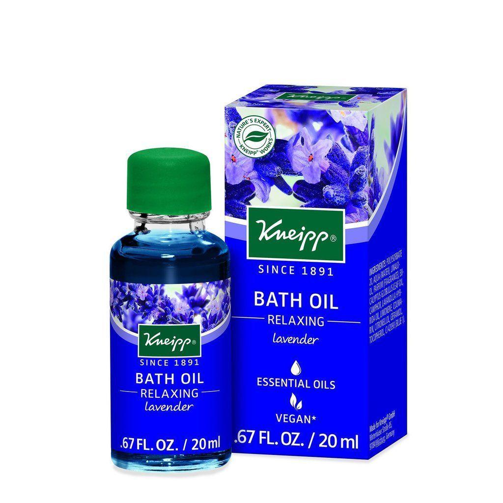 Kneipp Relaxing Bath Oil Relaxing Essential Oils Relaxing Oils Bath Oils