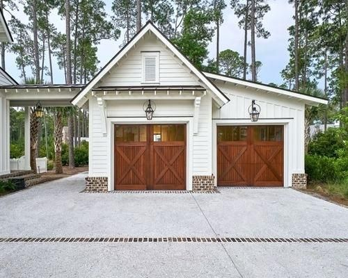 Garage Renovation Ideas Large Country Detached Three Car