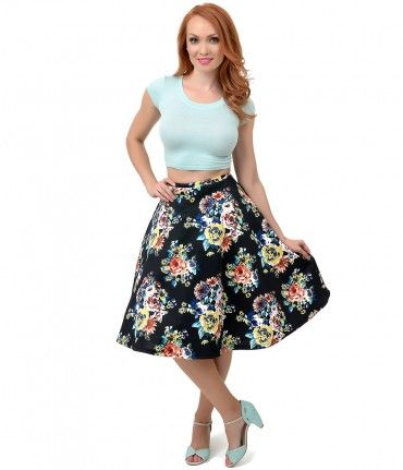Don't mess with a classic, dear! Breeze along in this fabulous flare, a heavenly high waisted A-line skirt that's softly...Price - $36.00-VbF6TdSh