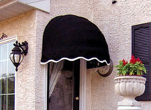 Bostonian Window Awning For Two Windows At The End Of The House 750 For Both Plus Installation Door Awnings Awning Over Door Window Awnings