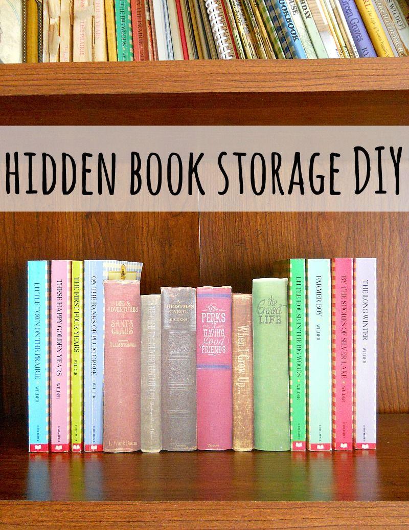 Do It Yourself: Verstopplekje in de boekenkast! - Chicklit | have to ...