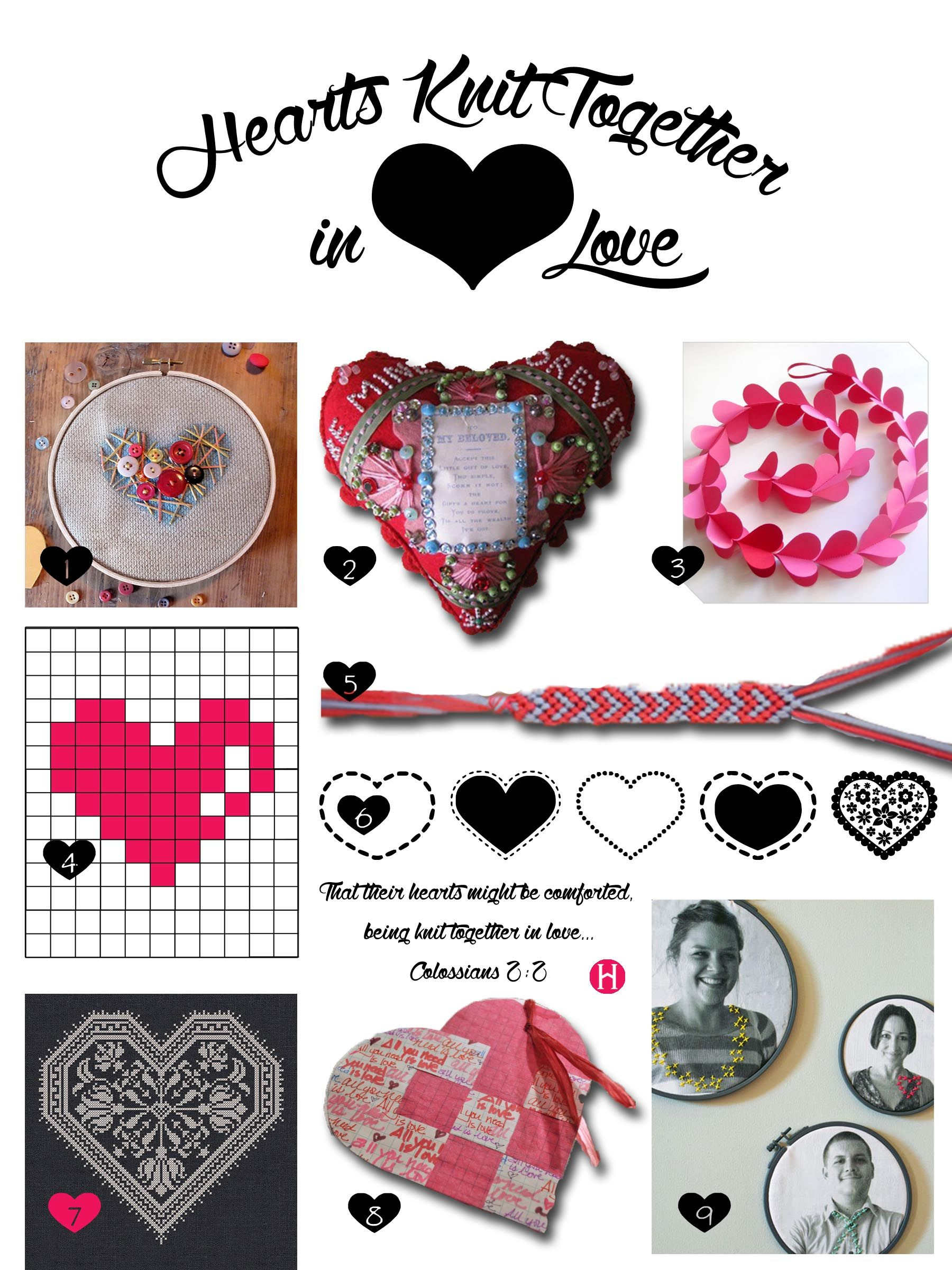 Hearts Knit Together in Love Celebration | Relief Society | Pinterest