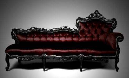Baroque Sofas Baroque Silver Upholstered Sofa From