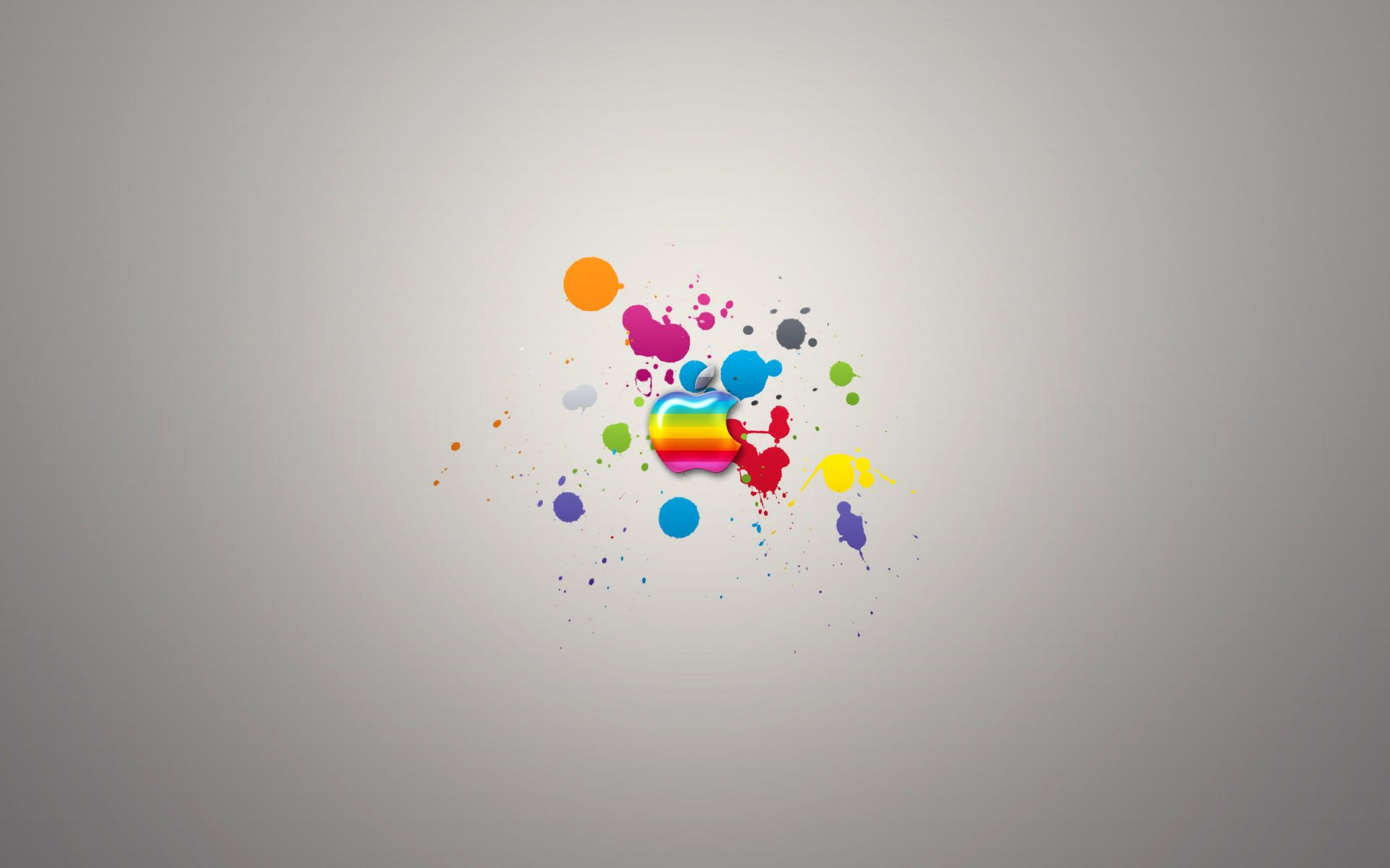 Glassy colors of apple wide hd wallpapers high definition