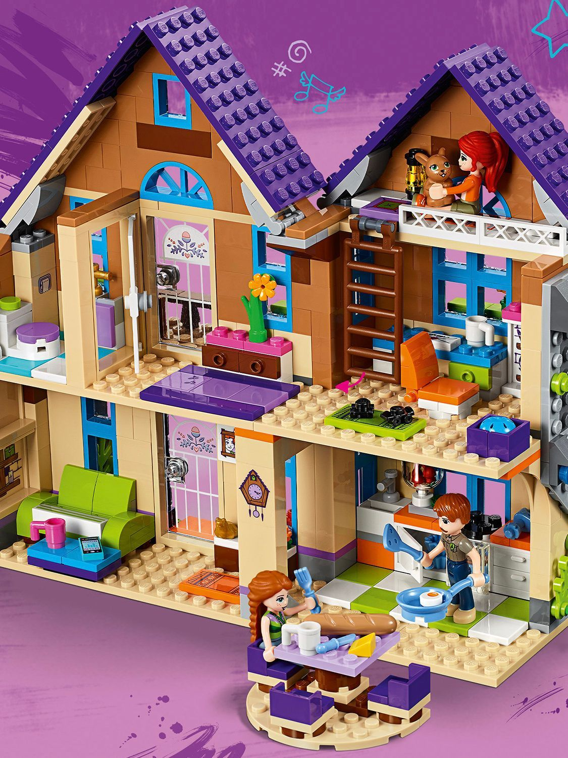 LEGO Friends 41369 Mia's House in 2020 (With images