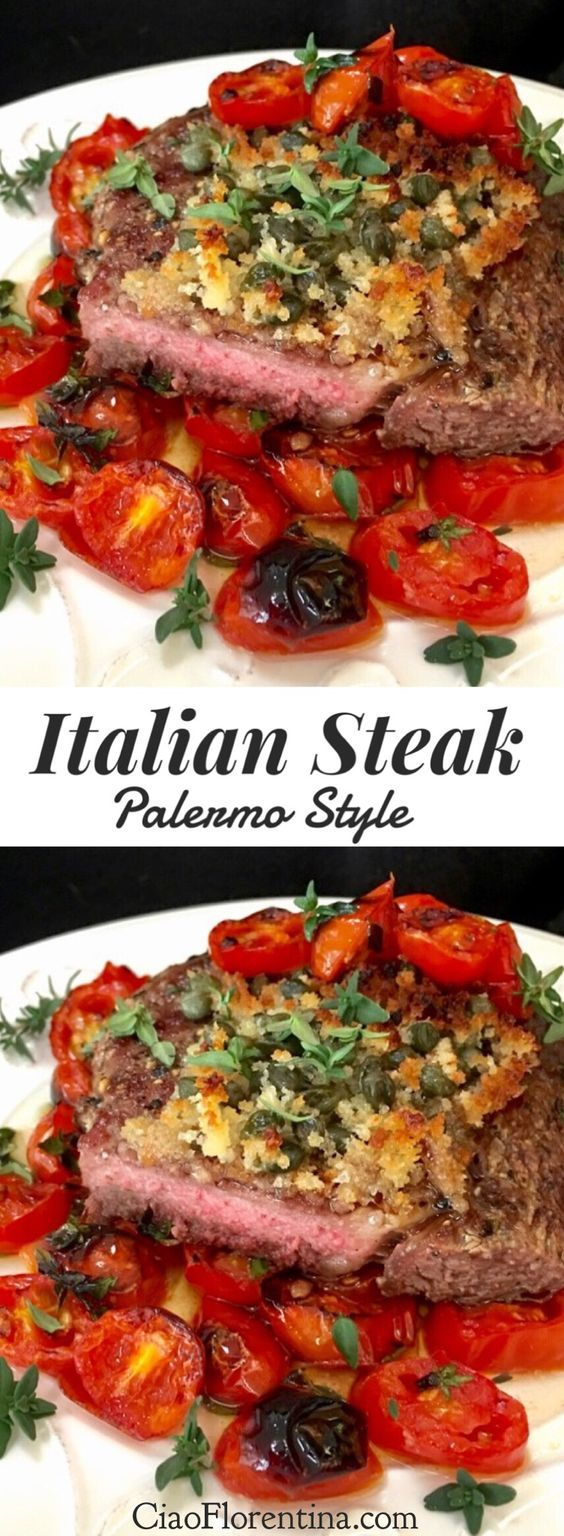 Italian Steak Recipe Palermo Style Ciaoflorentina Recipe Italian Steak Recipe Easy Steak Recipes Italian Recipes