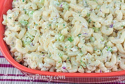 Macaroni Salad Recipe Basic