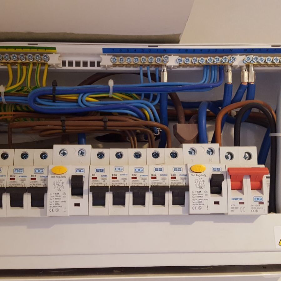 Connection To Consumer Unit Get In Touch For Free