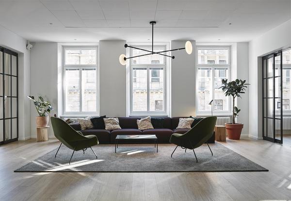 Ufficio Di Design : Il nuovo ufficio di design di fjords helsinki elle decor italia
