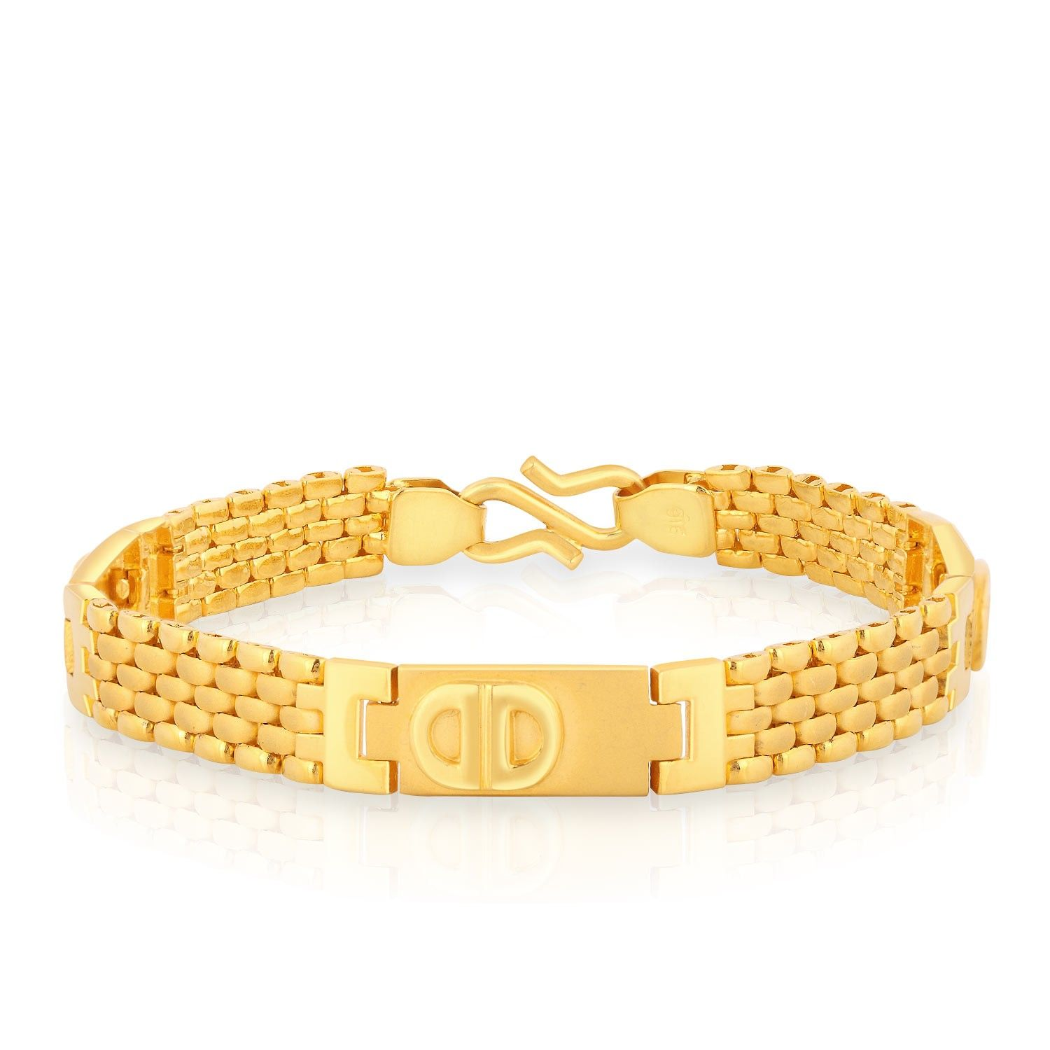 Mens Bracelet Gold Design Bracelets Gents Catalog With Designs For In Jewellers Kada