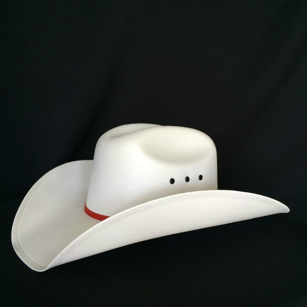 NEW OLD STOCK White Calgary Stampede Cowboy Hat Presentation Smithbilt Sz  Large  a18346f164d