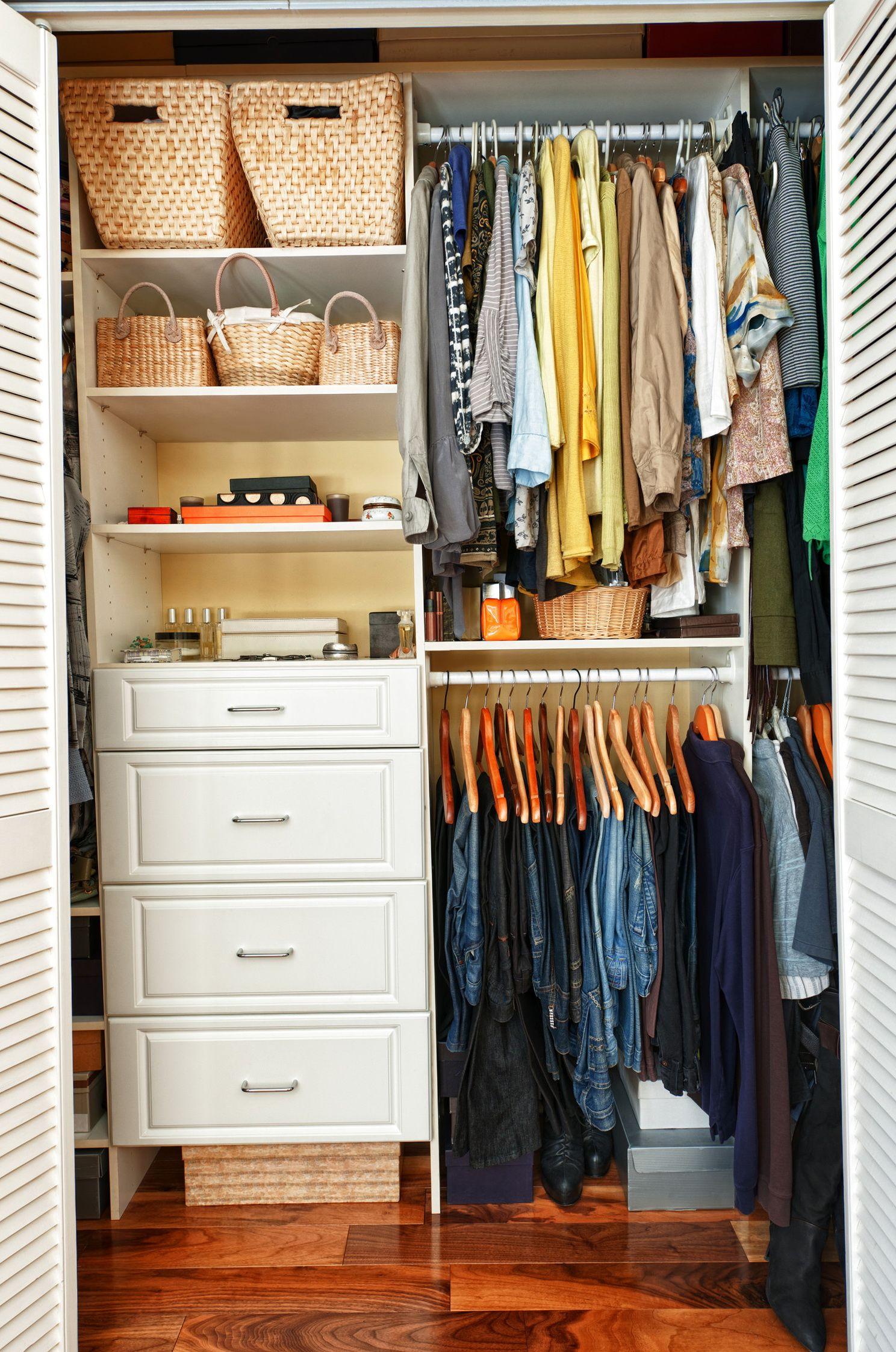 Small Bedroom Closet Design Ideas Magnificent Archaic Diy Closet Organization Hacks  Roselawnlutheran  Closets Decorating Inspiration