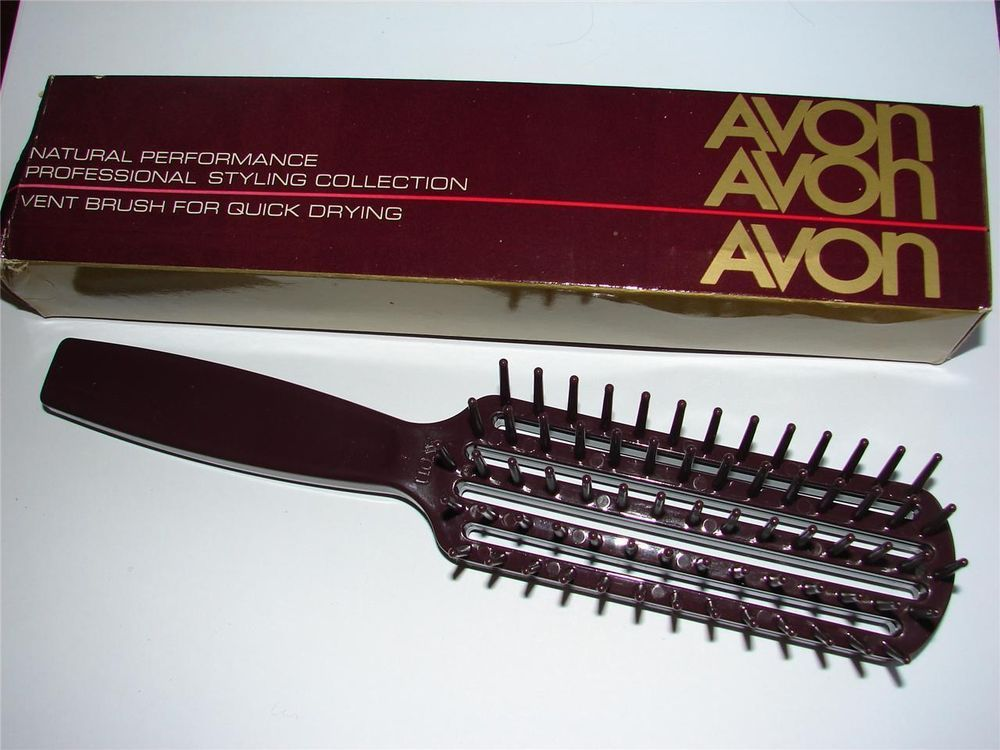 My Brush Had No Idea It Would Cost So F Ing Much Dammit Nos 1984 Avon Vintage Natural Performance Vent Hair Quick Drying