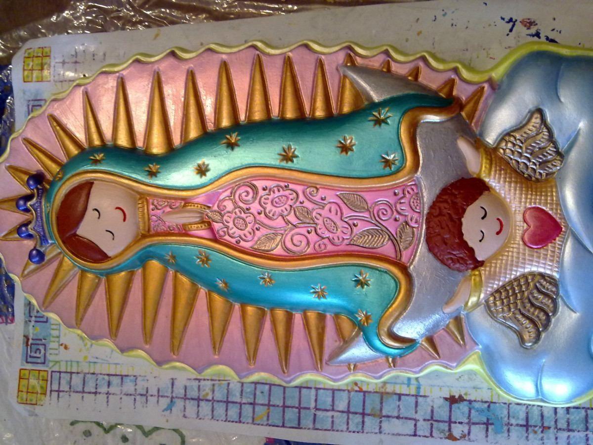 imagenes de la virgen de guadalupe para colorear - Buscar con Google ...