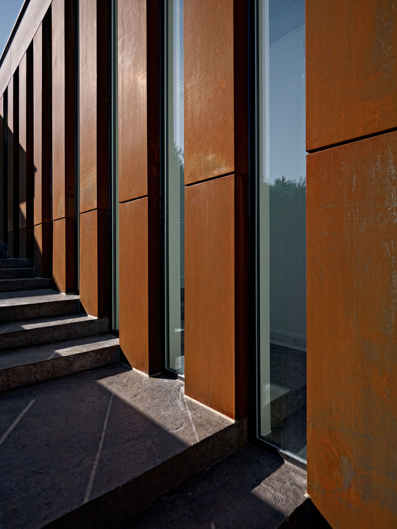 Here Is Corten Steel. Iu0027ll Pin More Images Because It Can Look Different