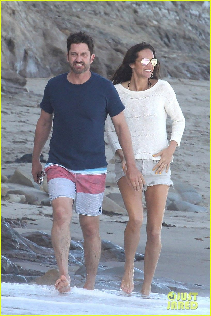 Gerard Butler & Girlfriend Morgan Brown Spend Sunday at the Beach: Photo #3645254. Gerard Butler and his girlfriend Morgan Brown spend some time at the beach together on Sunday (May 1) in Malibu, Calif.    The 46-year-old actor and his love were…