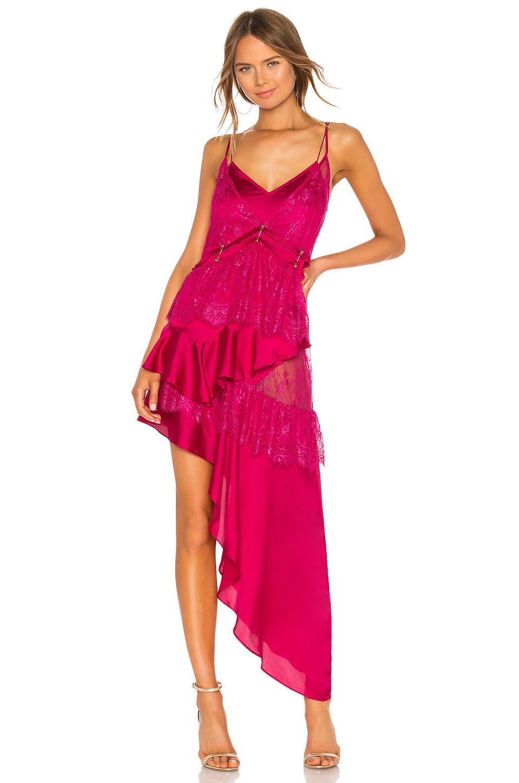 For Love Lemons Sabina Layered Maxi Dress In Fuchsia Maxi Dress Women S Fashion Dresses Fuschia Dress [ 1450 x 960 Pixel ]