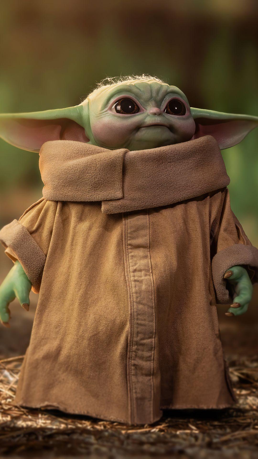 Baby Yoda Cute 4k Wallpaper In 2021 Star Wars Wallpaper Star Wars Wallpaper