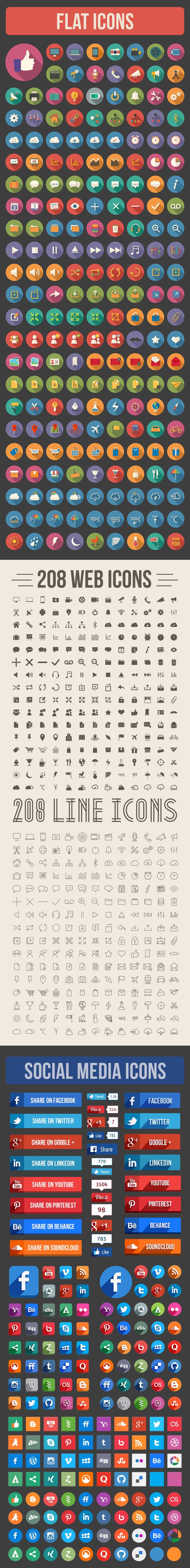Icon Bundle Icons, Flat design and Web design inspiration