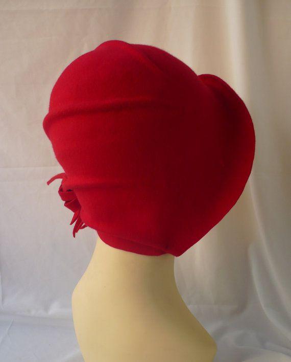 143f63eaac508 Sombrero cloché Sombrero años 20 Sombrero vintage Sombrero ...
