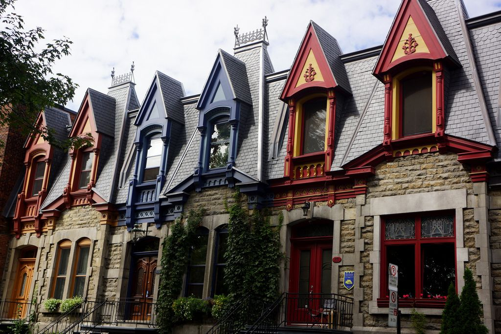 Image Result For Boston Row Houses Row House Eastern Canada Montreal Canada