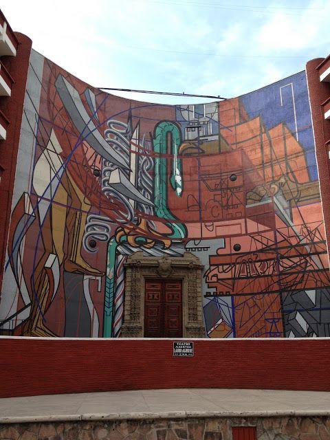 Mural alegor a nacional en la escuela normal de maestros for Arte mural en mexico