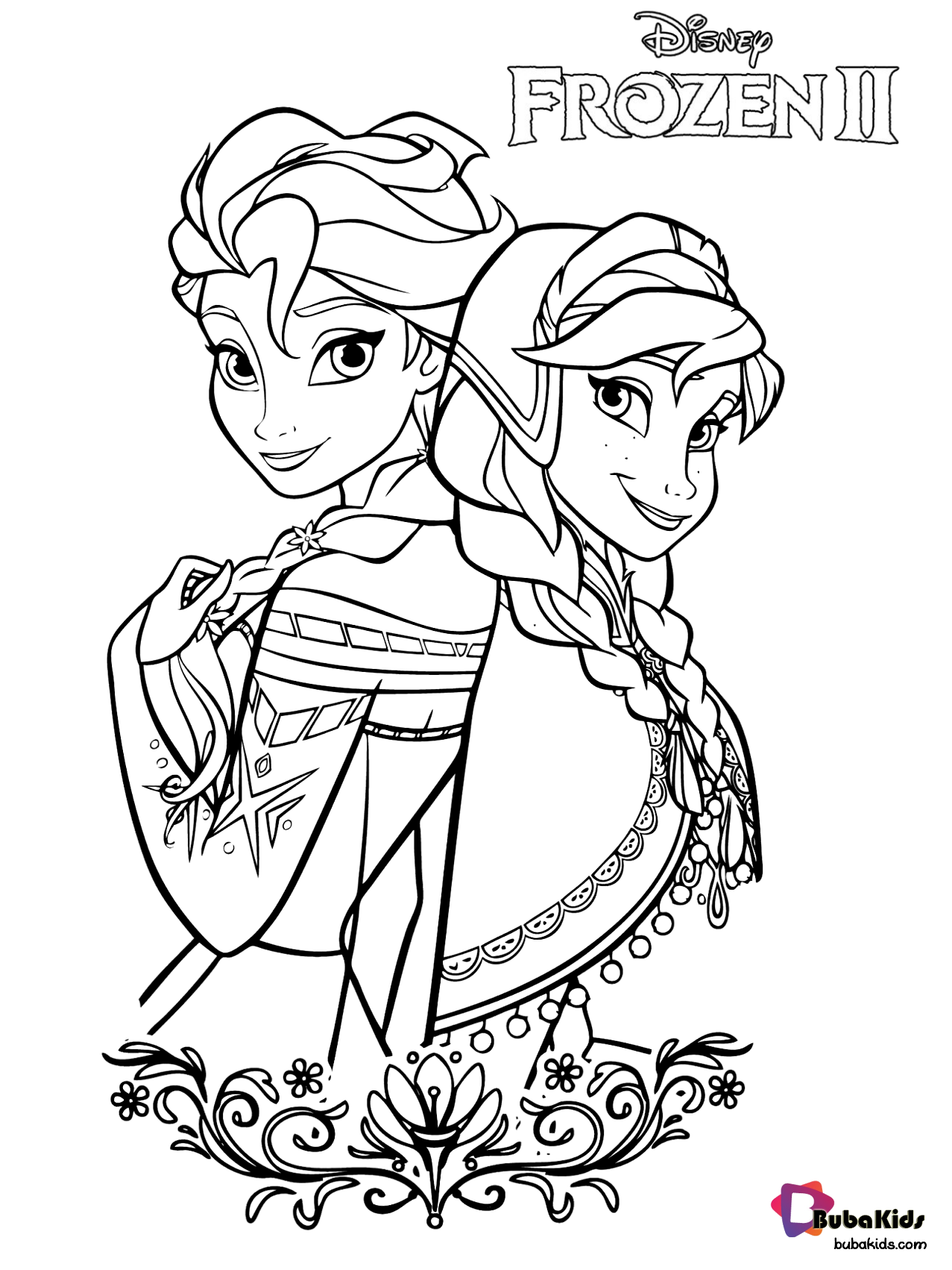 Free Download And Printable Coloring Pages Frozen 2 Coloring Pages Queen Elsa And A In 2020 Disney Princess Coloring Pages Elsa Coloring Pages Disney Coloring Sheets