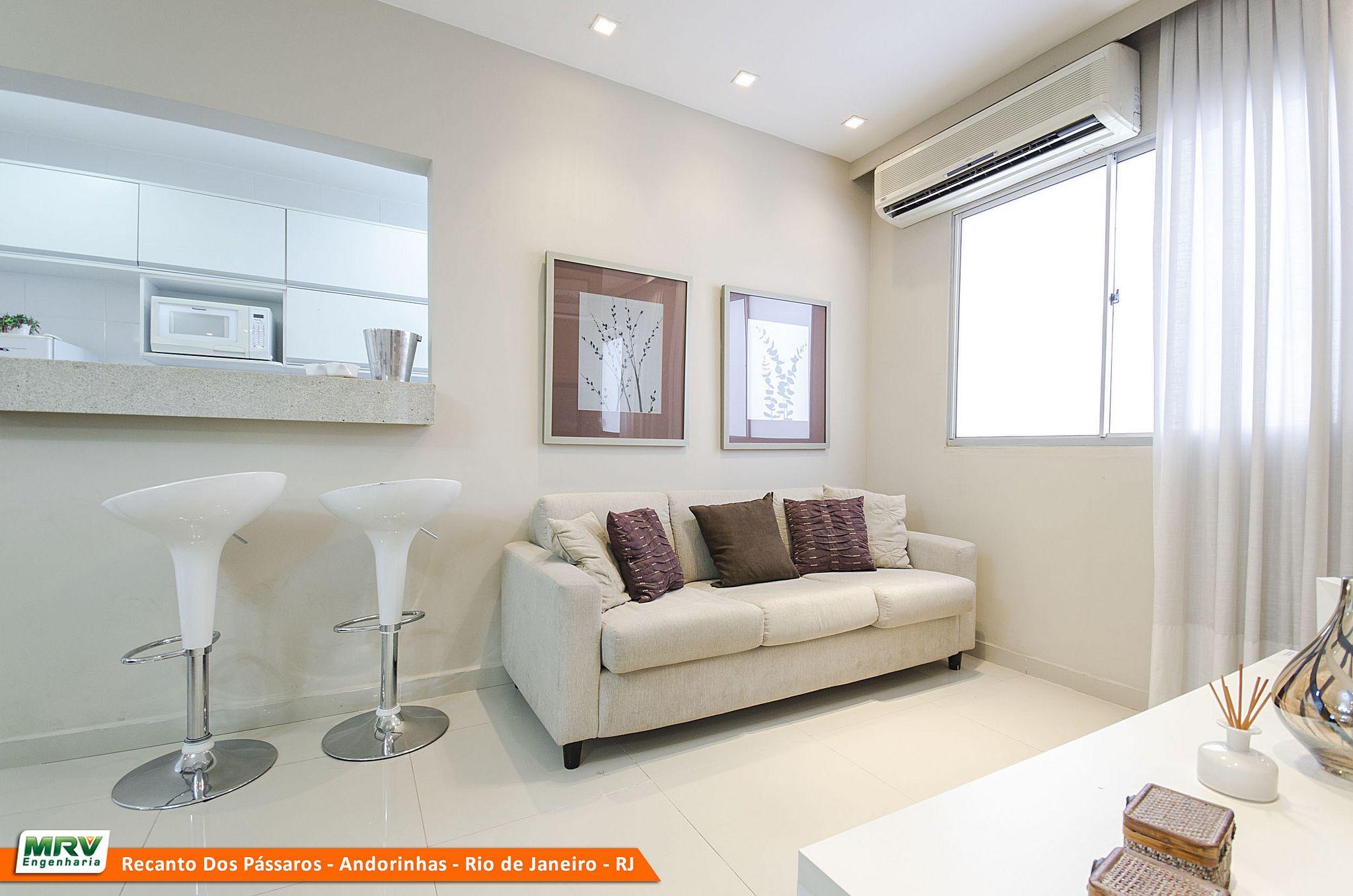 Apartamento Mrv No Rio De Janeiro Recanto Dos P Ssaros Andorinhas  -> Papel De Parede Sala Mrv