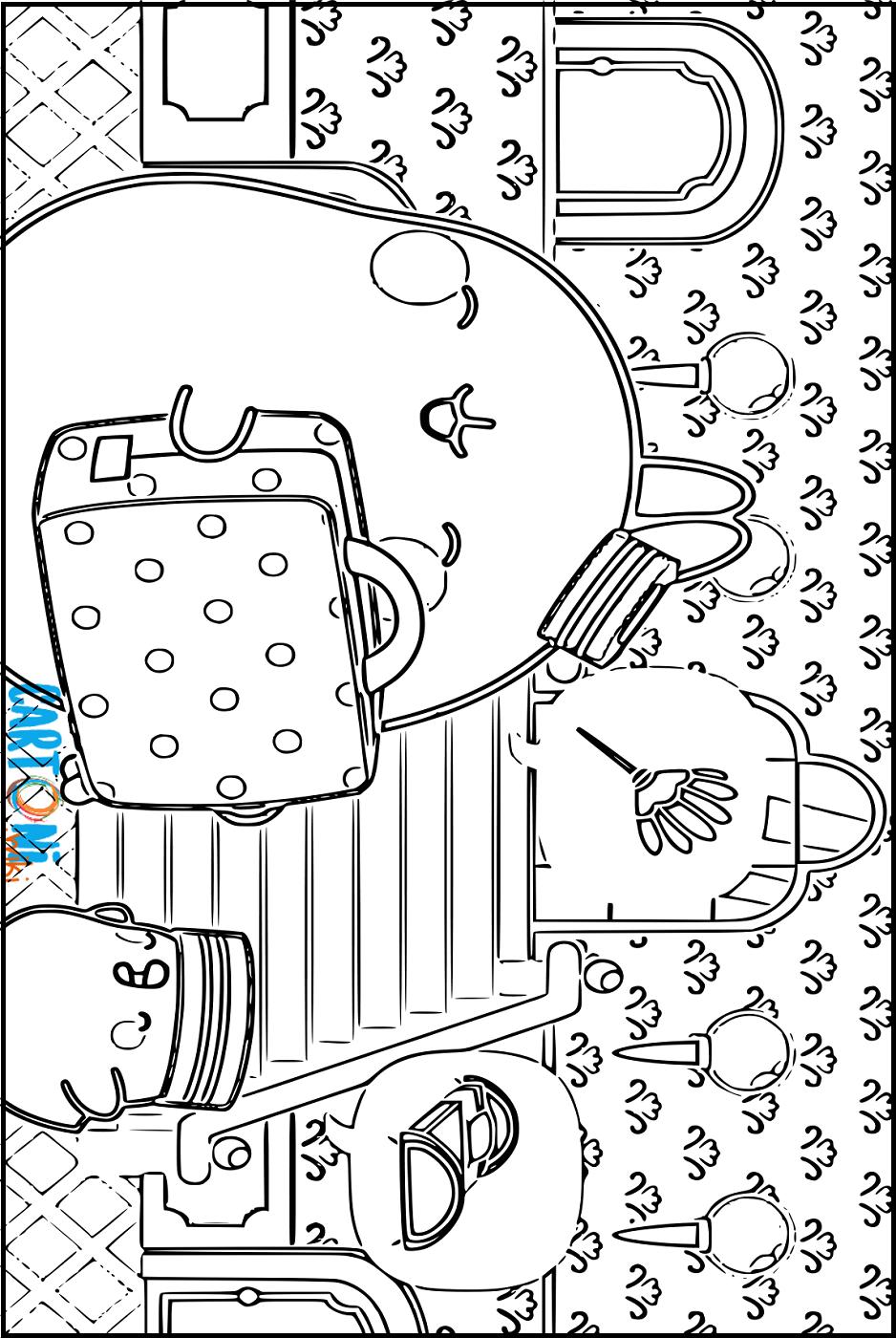 Cartoni Animati Stampa E Colora Molang La Tenera Coniglietta