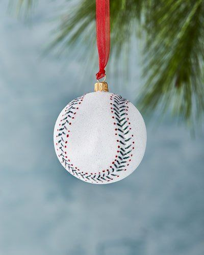 Baseball Christmas Ornament - Baseball Christmas Ornament *Seasonal&holidaydecorations