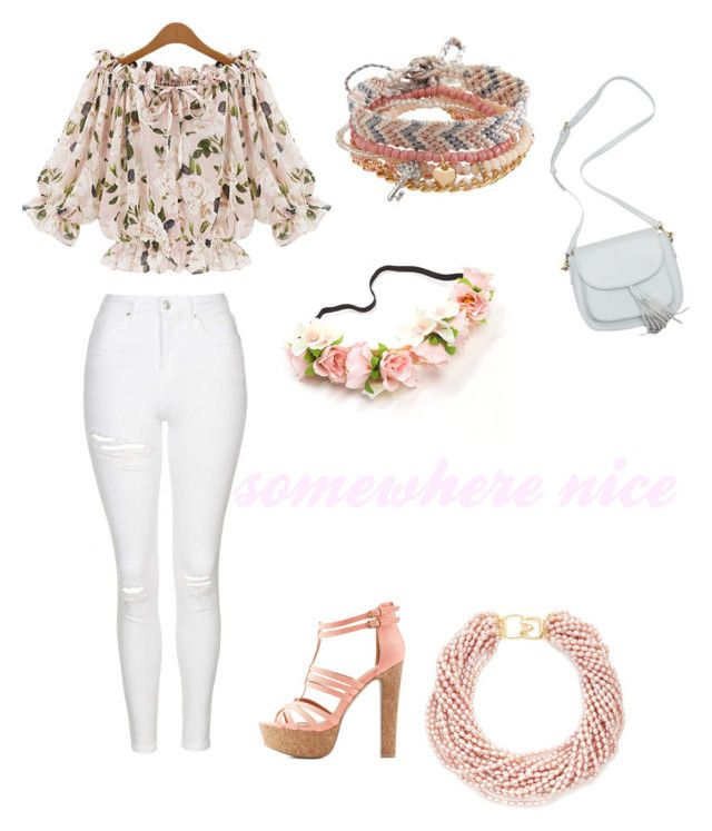 """""""somewhere nice"""" by yayme2 ❤ liked on Polyvore featuring beauty, Topshop, Charlotte Russe, Aéropostale and Kenneth Jay Lane"""