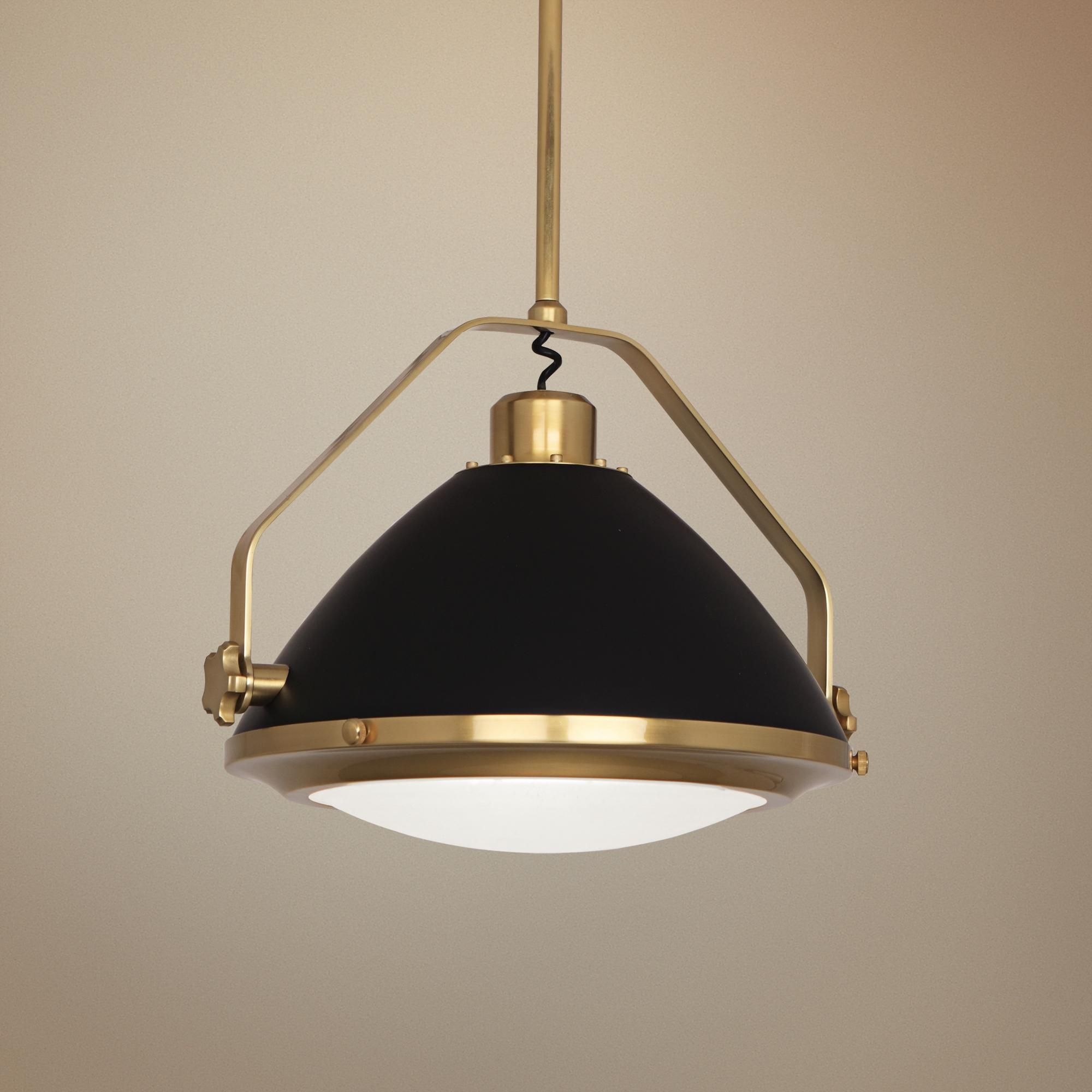 Schoolhouse Light Pendant 3