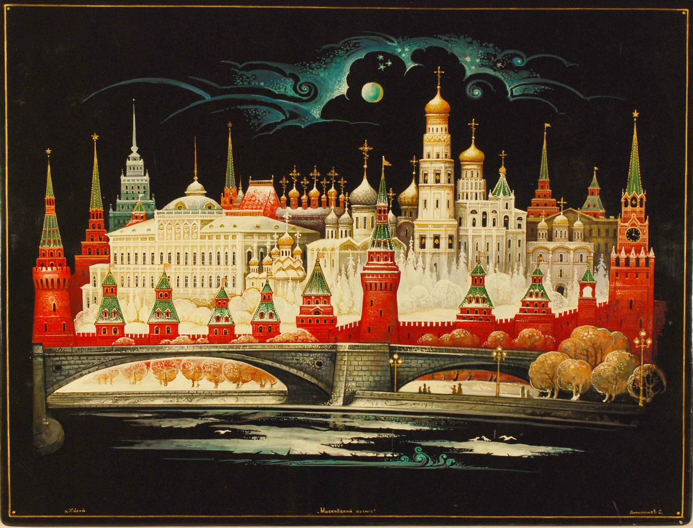 Постер на кремле